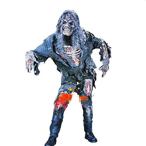 Makeup Kostüm Männlich Teufel - WYPANCTeufel Kostüm Adult Horror Zombie Halloween Kostüm Party