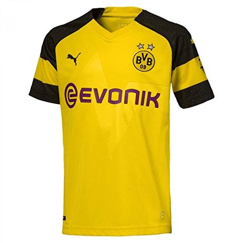 Puma Herren Borussia Dortmund Home Trikot BVB 2018/19 753310 Cyber Yellow XXXL (Gelb Home Fußball-trikot)