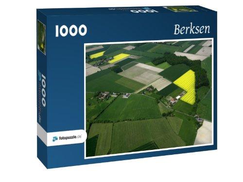 Berksen - Puzzle 1000 Teile mit Bild von oben