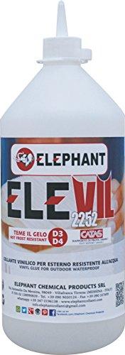 0,5 KG Colla vinilica per Legno D3 ELEVIL2252 - Super Collante professionale 500 gr