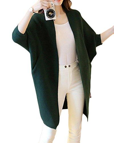 Chandail Tricot Femmes Pull Longue Manche Milongue Cardigans F6qvO