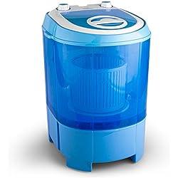 OneConcept Sg003 machine à laver Portable Charge par dessus Bleu 2,8 kg - Machines à laver (Portable, Charge par dessus, Bleu, Haut, RoHS, 2,8 kg)