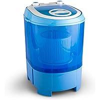 OneConcept Sg003 Portable Charge supérieure 2.8kg Bleu machine à laver - Machines à laver (Portable, Charge supérieure, Bleu, Haut, RoHS, 2,8 kg)