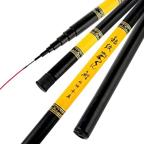 True-Ying Canne à pêche Portable Ultra légère en...