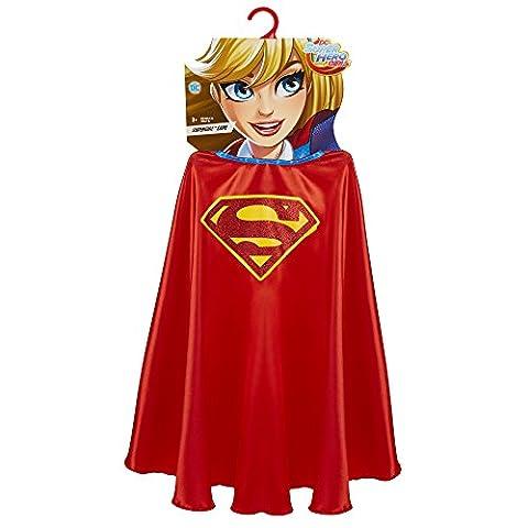DC Super Hero Mädchen 56664-eu Supergirl Cape (One Size)