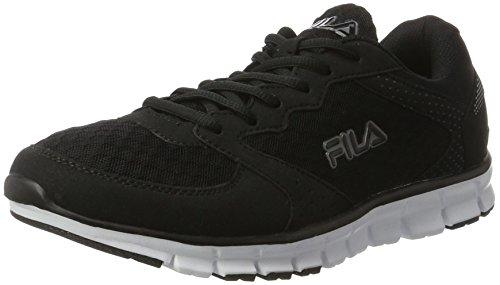 fila-herren-men-base-comet-run-low-sneaker-schwarz-black-45-eu