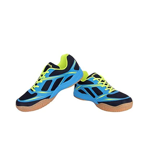 Nivia 39210 Super Court Badminton Shoes 10UK 44EU  (Navy Blue)