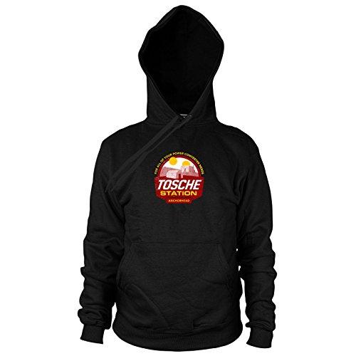 Planet Nerd Tosche Station - Herren Hooded Sweater, Größe: XXL, Farbe: (Chewbacca Kostüm Xxl)