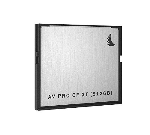 Angelbird AV Pro CF XT Speicherkarte - 512GB [CFast 2.0 | bis zu 550MB/s Lese- und 480MB/s Schreibgeschwindigkeit | Magnet- und Röntgenstrahlsicher] - AVP512CFXT