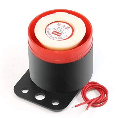 BJ-1 90 db 220VAC sirena de alarma para emergencias electrónico zumbador