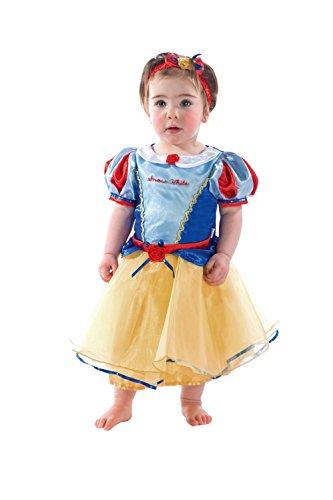 Amscan DCPRSW18 - Princess Dress, Snow White, blau/gelb