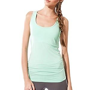 Sternitz Frauen Fitness, Maya Top, ideal für Pilates, Yoga und jeder Sportart, Bambusgewebe, ökologische und weich. Ärmel.