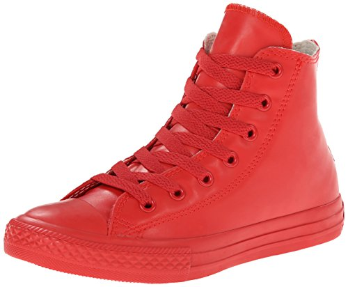 CONVERSE 344744C ALL STAR HI RUBBER RED SNEAKERS Enfant Rouge - Rouge