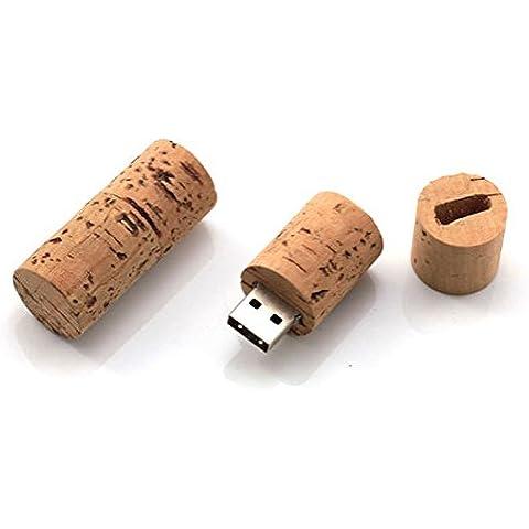 Corcho Botella De Vino 16GB–Memory Stick Almacenamiento de Datos–Pendrive
