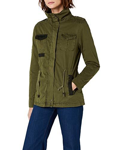 Brandit Damen Summerdale Girlie Jacket Jacke, Grün (Olive 1), 36 (Herstellergröße: S)