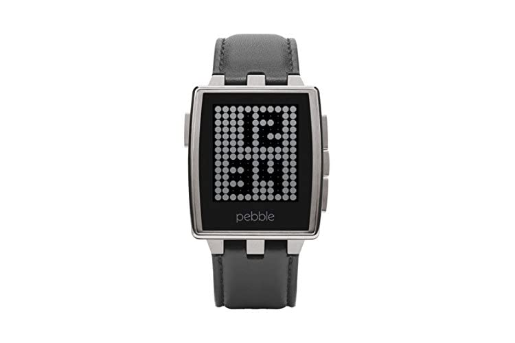 Pebble Steel Smartwatch - Brushed Stainless