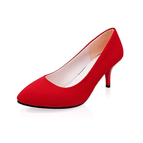 XTIAN , Coupe fermées femme Rouge