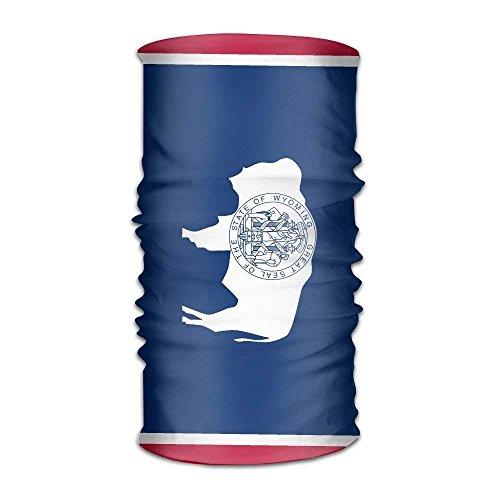 Rghkjlp Bandeau Wyoming State Flag Multifunctional Magic