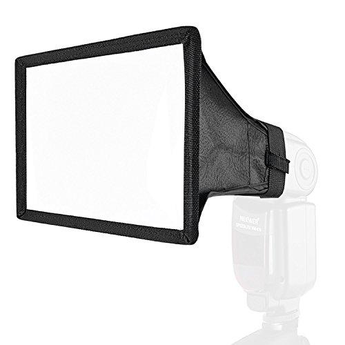 Neewer Pro Universal-Klapp-Studio Softbox Blitz-Diffusor (15 cm (6 Zoll) x 20 cm (8 Zoll)) für On Camera/Aus Blitzpistole mit Tragetasche
