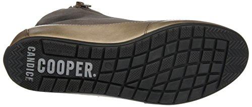 Candice Cooper Camoscio Vint, Sneaker a Collo Alto Donna Grigio (Taupe)
