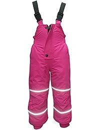 Outburst - Kids Mädchen Skihose Schneehose Wasserdicht 10.000 mm Wassersäule, Pink