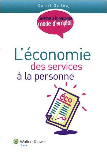 L'économie des services à la personne