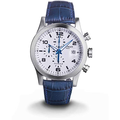 Locman Island 0618A08-00WHBKPB - Reloj cronógrafo para Hombre