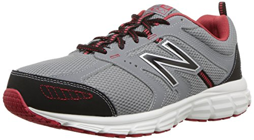 Preisvergleich Produktbild New Balance Men's 430v1 Running Shoe,  Steel / Team red,  11 4E US