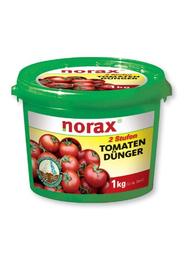 norax 2 Stufen Tomaten Langzeit-Dünger + Magnesium 1 kg für 25 m²
