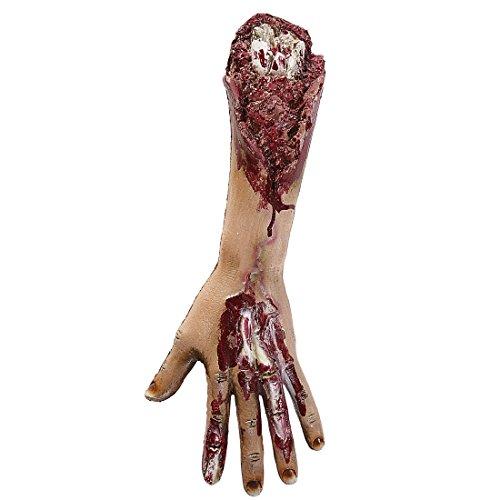 Abgetrennter Zombie Fuß - NET TOYS Halloween Körperteile Abgetrennte Gliedmaßen