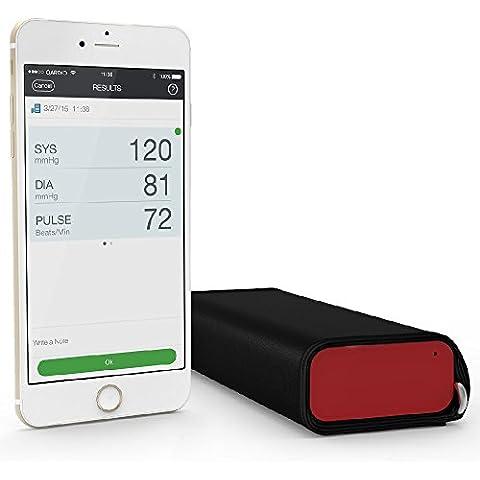 Qardio QardioArm - Monitor de presión sanguínea inalámbrico, color rojo imperial