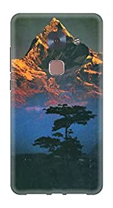 Generic Hard Printed Back Cover for LeEco LeMax2 (Multicolor)