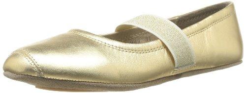 Bisgaard Mädchen Ballet Geschlossene Ballerinas, Gold (02 Gold), 30 EU