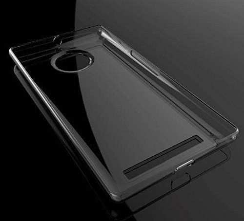 los angeles b58d3 7f5cb SDO Ultra Thin Silicone Soft Case Back Cover for Micromax YU Yuphoria -  Transparent