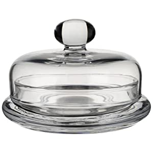 Villeroy & Boch Retro Accessories Butter Plate, Glass, Transparent