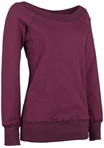 Forplay Sweater Felpa donna rosso vino XL