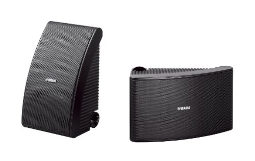 Yamaha NS-AW 592 - Altavoces Intemperie, Color Negro