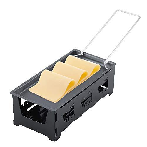 Delaman Queso Raclette Juego de Estufas para Bandejas para Hornear, Antiadherente, Mini, Antiadherente, Cocina Casera para Asar a la Parrilla