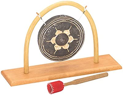 Gong Soporte con Ratán 15Thai Gong