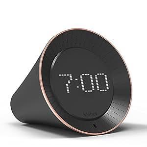 Vobot Smart Alarm LED Clock with Amazon Alexa,Radio Clock Alarm Clocks with TuneIn Radios Supports Daily Routine,Snooze,Amazon Music,Weather,LED Display,5W Speaker,Timer,News,Sleep Sound&iHeartRadio