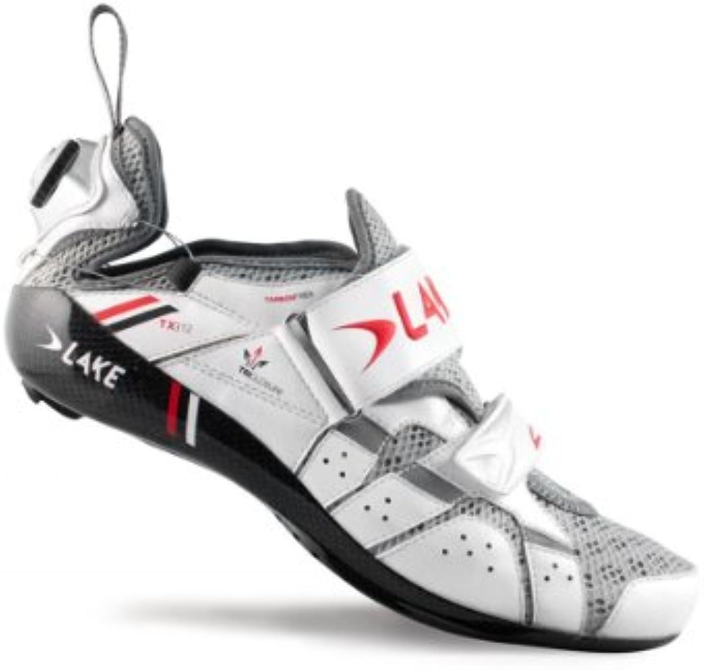 Lake TX312 Mens Triathlon Shoes White 41 Mens