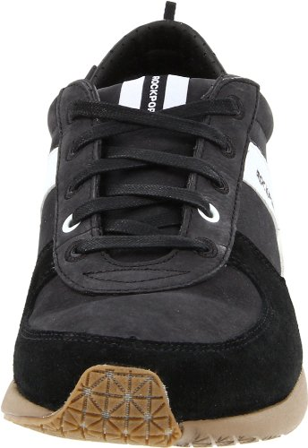 Rockport Park Ultra Blucher Sport Homme Baskets / Sneakers, Noir Black Suede