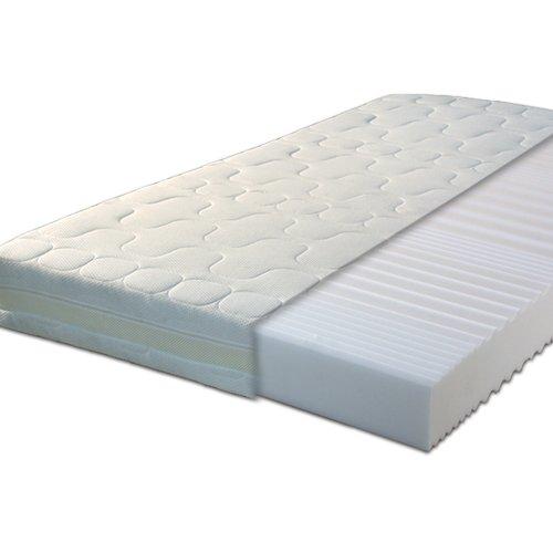 Gigapur 24376 G18 Matratze | 7-Zonen Kaltschaummatratze H3 | Premium Schaumstoff-Matratze mit Klimaband | 140 x 200 cm