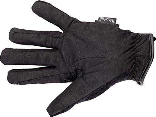 HKM Damen Reithandschuhe Thinsulate Winter Handschuhe, schwarz, S