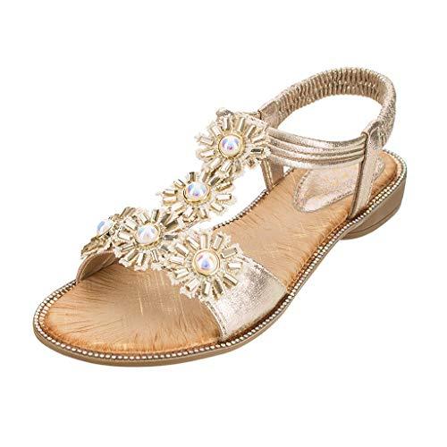 Sandali da donna da estate/sandali donna bassi eleganti sandali donna con zeppa infradito donna eleganti con strass mare sandali gioiello donna estivi - donna peep- zarupeng