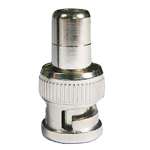 Calli 10 x RCA-Buchse zu BNC-Stecker-Adapter Koax-Kabel Bnc-koax Adapter