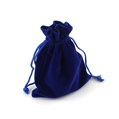 Pixnor – 10 bolsitas de terciopelo para joyas, regalos, bodas, fiestas...