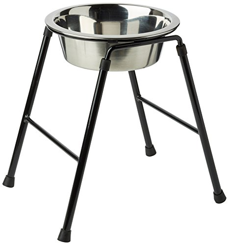 caldex-single-feeder-stand-with-bowl-300-mm-1600-ml