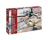 Italeri Maquettes avions : Bf109F-4 et Fw190D-9 War Thunder