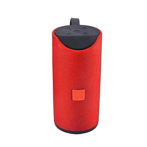 Frittle DG-113 Super Bass Splash-Proof Bluetooth Speaker with Inbuilt Mic, USB, TF Card and AUX Slot Easily Connect with All Bluetooth Enabled Devices - Assorted Colour